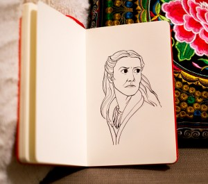 Game of Thrones - Inktober - Catelyn Stark