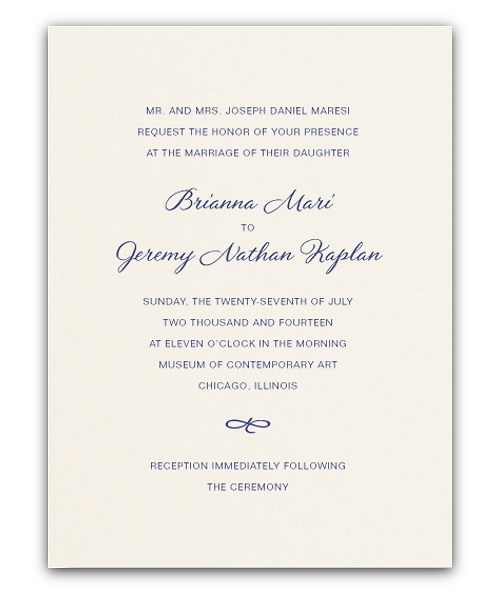 Wedding Invitations Ireland  Wedding Stationery  Unique Engraved Heavy Bristol Card in Ecru by