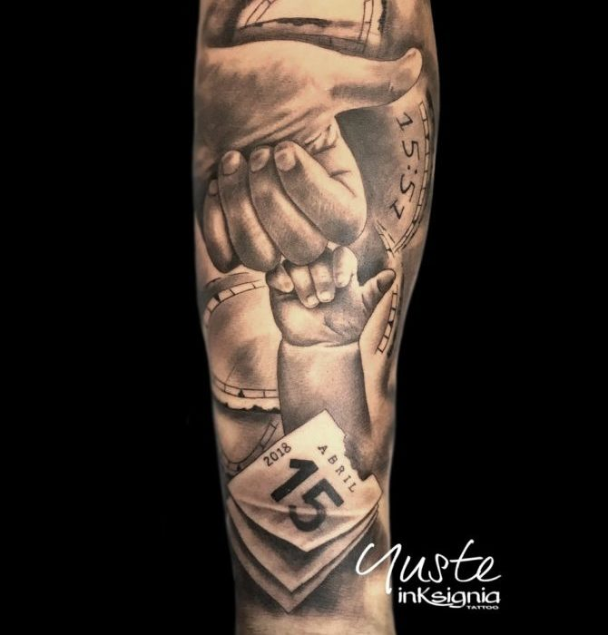 Padre E Hijo Tattoo Tatuajes Pequeños