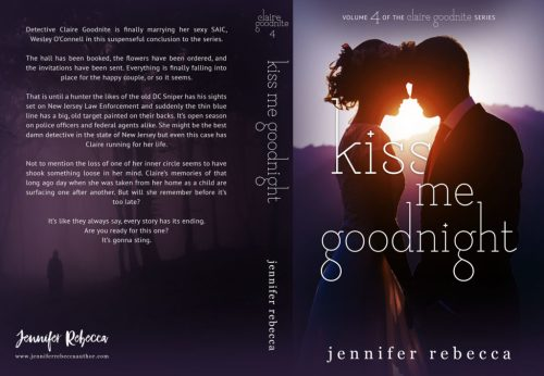 Kiss Me Goodnight front  & back cover