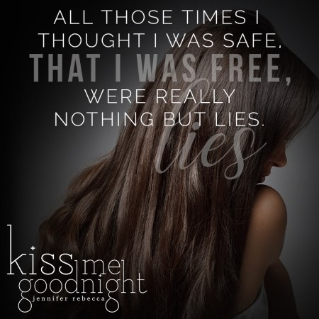 """""""All those ties I thought I was safe, that I was free, were really nothing but lies."""""""