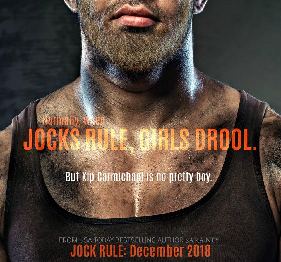 JRteaser1 Cover Reveal for Jock Rule by Sara Ney