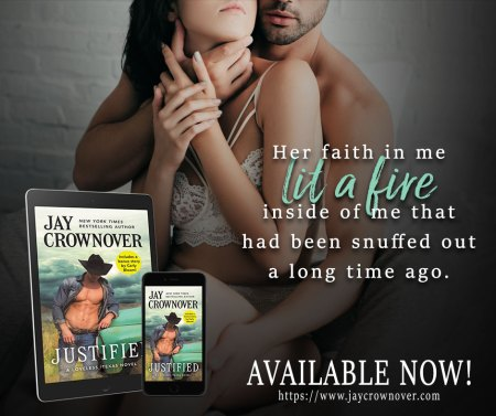Justified by Jay Crownover New Release 5