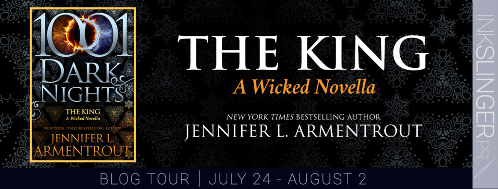 Blog Tour: The King(A Wicked Novella), written by Jennifer L. Armentrout | Review & Book Trailer