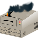 HP PRINTERS CAN BURST INTO FLAMES!!