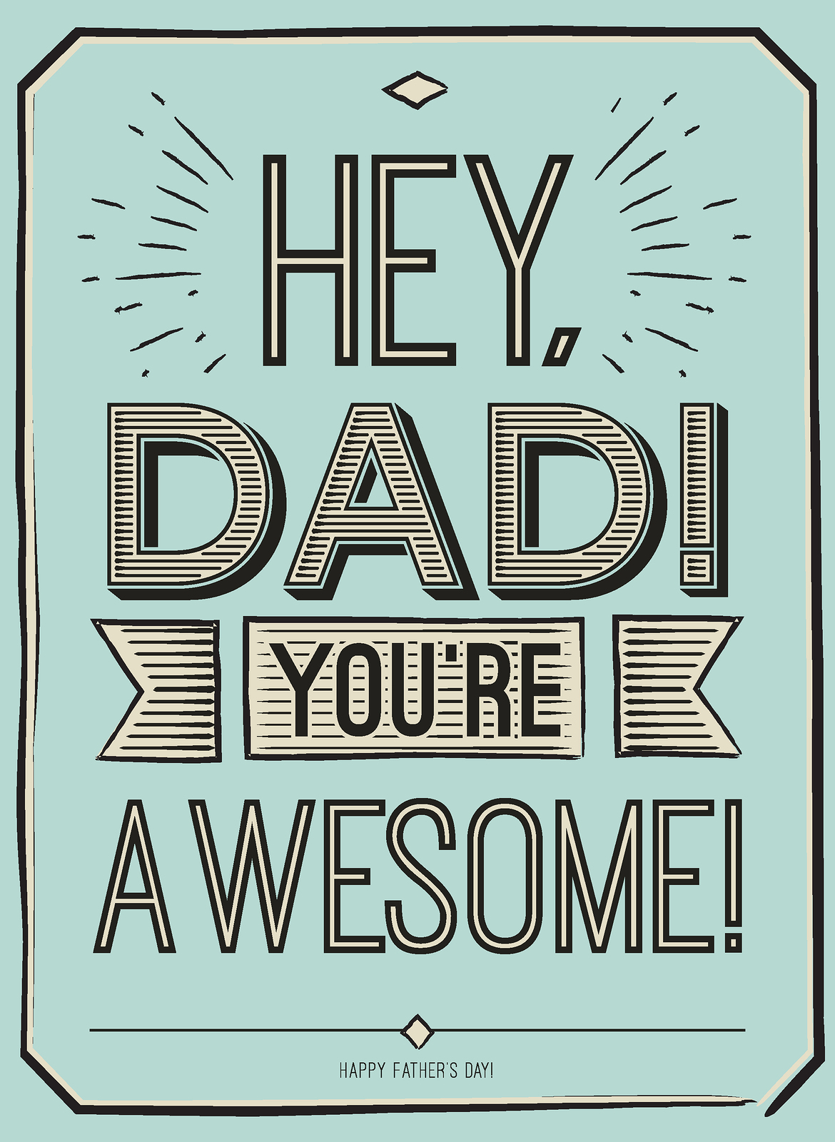 60 Father S Day T Card
