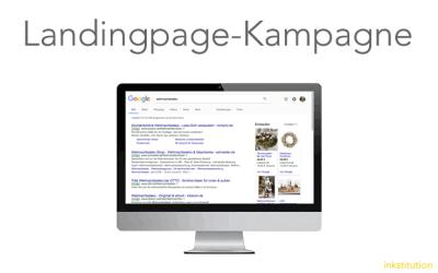 Teil 1: Die Landingpage-Kampagne