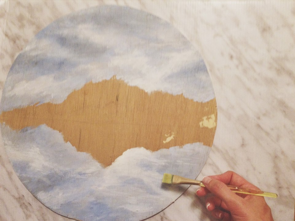 Learn how to create a beautiful mountain painting in acrylics in this guest tutorial post by Katelyn Morse on Inkstruck Studio.