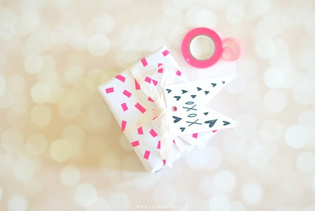 DIY Valentines gift wrap ideas by Zakkiya Hamza of Inkstruck Studio