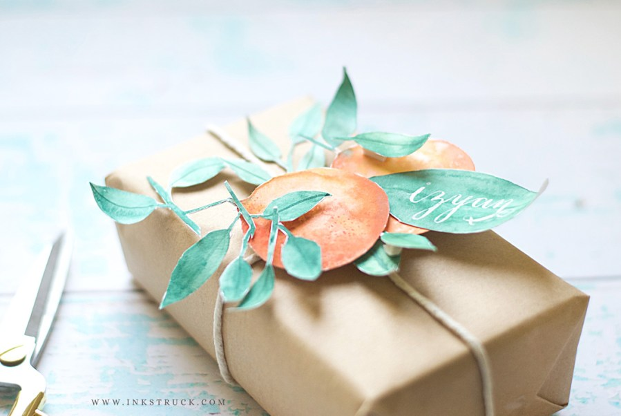 Learn how to create watercolor paper collage that you make use in projects like gift wraps, wall decor, Valentine's day,anniversary or any occasion card   Zakkiya Hamza of Inkstruck Studio.