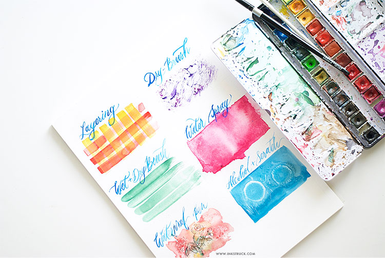 EASY WATERCOLOR TECHNIQUES