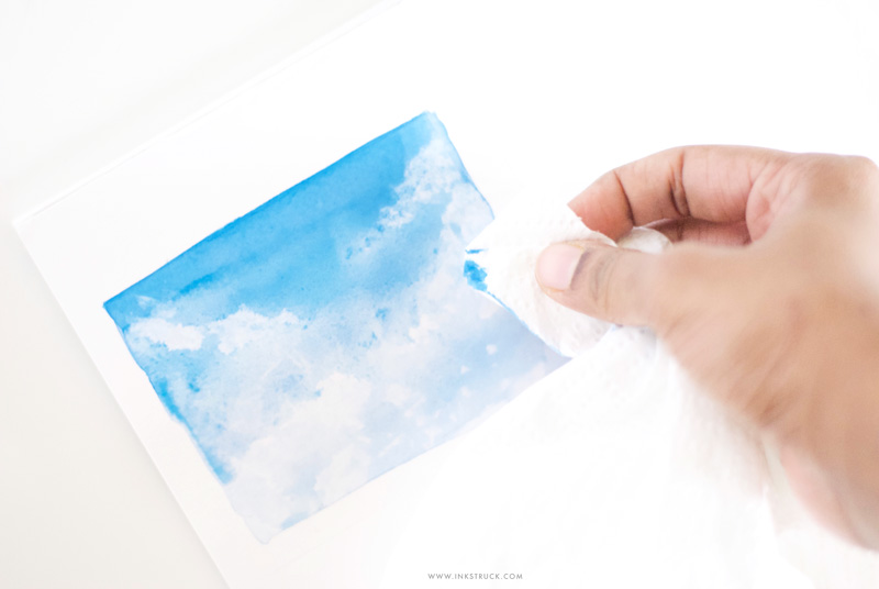 WATERCOLOR SKY TUTORIAL