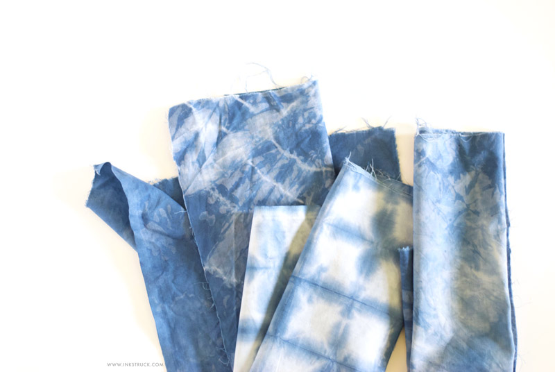 DIY easy indigo dyeing techniques - Inkstruck Studio