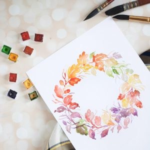 Learn watercolors - www.inkstruck.com