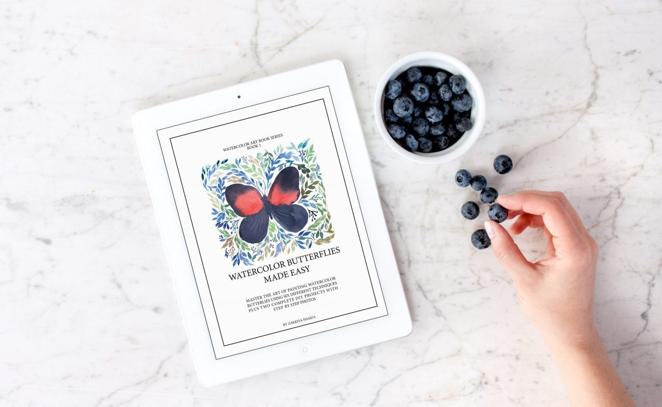 Do watercolors make you giddy with joy? Do you love watching the colors blend and creating magic? This comprehensive e-book on painting watercolor butterflies in six differnt ways using basic techniques. Want to know more? Click on the link and get plenty of bang for your buck - Inkstruck Studio