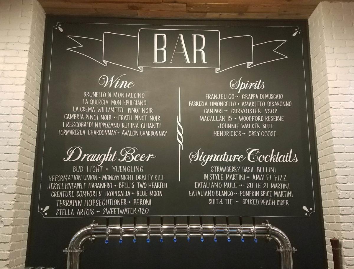 Chalkboard Menus for Restaurants, Coffee Shops, Breweries