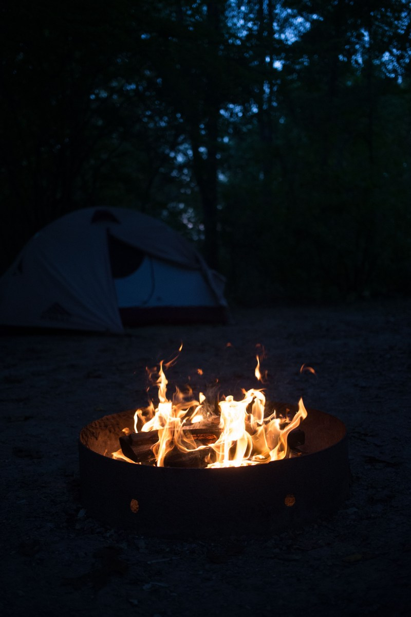 Early Autumn Camping at Governor Dodge State Park | Inkwells & Images