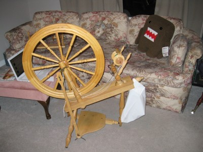 My spinning wheel, a Schacht-Reeves Saxony
