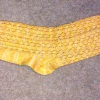 """The """"Butter-Coloured"""" socks"""