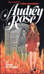 Book Cover: Audrey Rose by Frank DeFelitta.