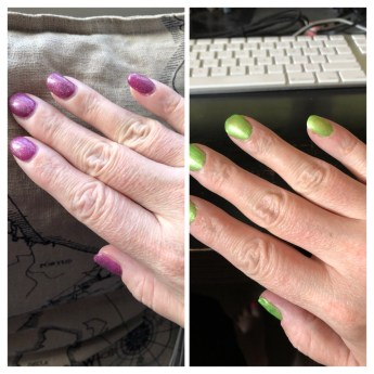 how my nails have changed over 5 months