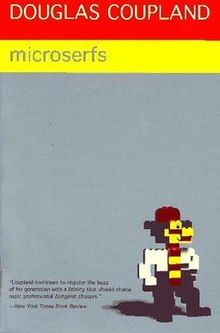 book cover: Microserfs by Douglas Coupland