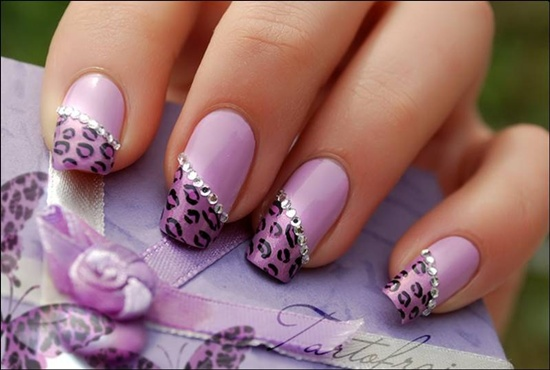 You Will Find That A Lot Easier Than The Way It Looks On Pictures As Keep Working Nail By Leopard Like Spots Start To Take Shape And