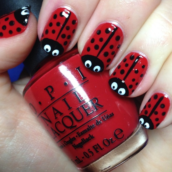 2 Amazing Red Nail Art Tutorials With Detailed Steps