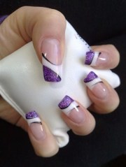 uv gel nail art design & application