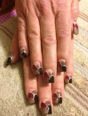 design abstract nail art