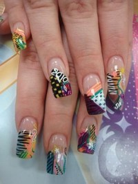 30 Designs For Abstract Nail Art