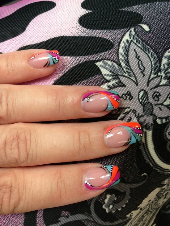 Abstract Nail Art 29
