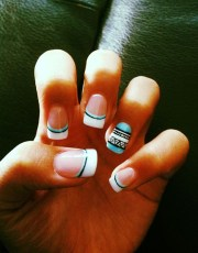 trendy tribal nail art ideas