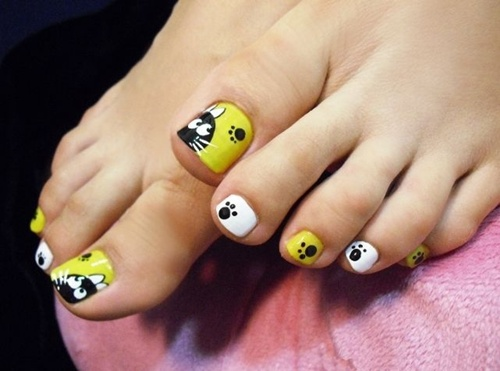 Cute Toe Nail Art 4
