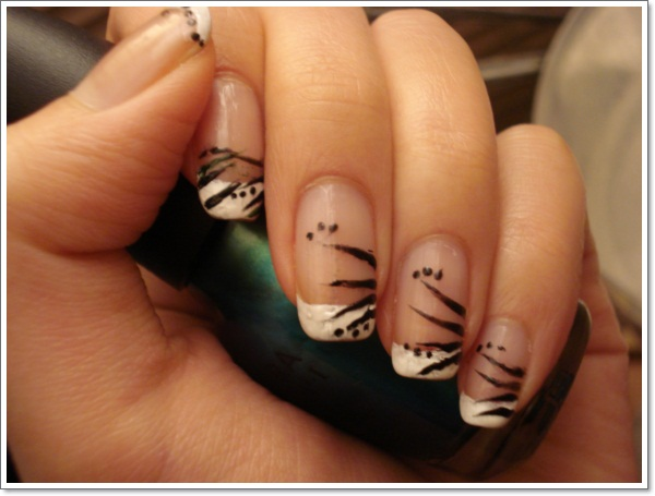 French Tip Nail Designs And Ideas