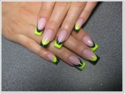awesome french tip nail design