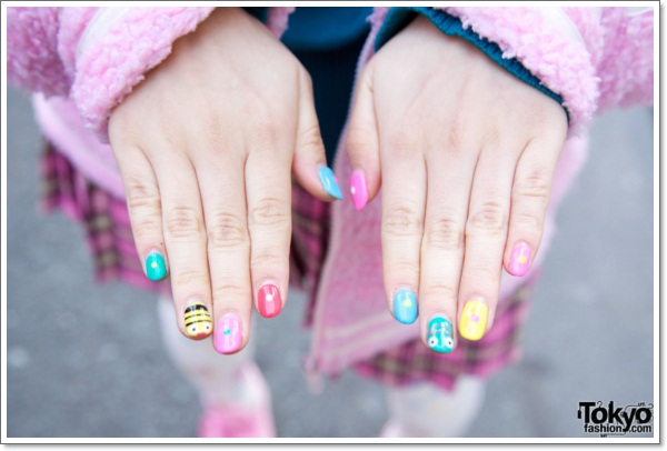 Konichiwa 25 Awesome Japanese Nail Art Designs