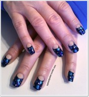 moon manicure instructions