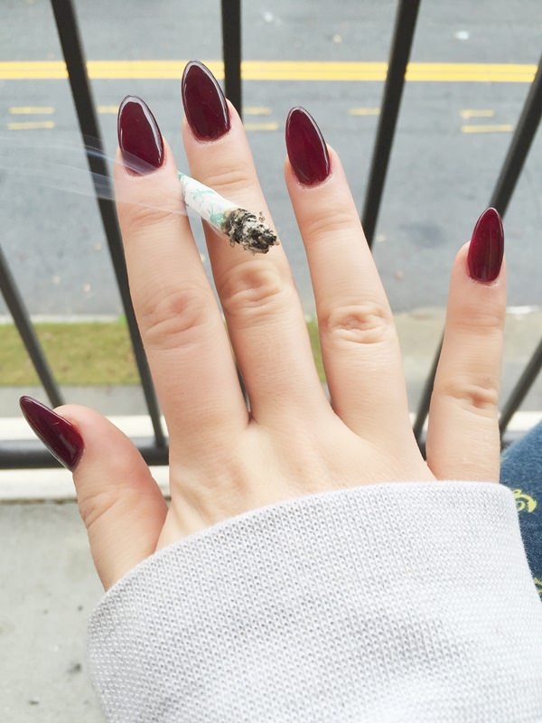 50 Amazing Burgundy Nails You Definately Have to Try