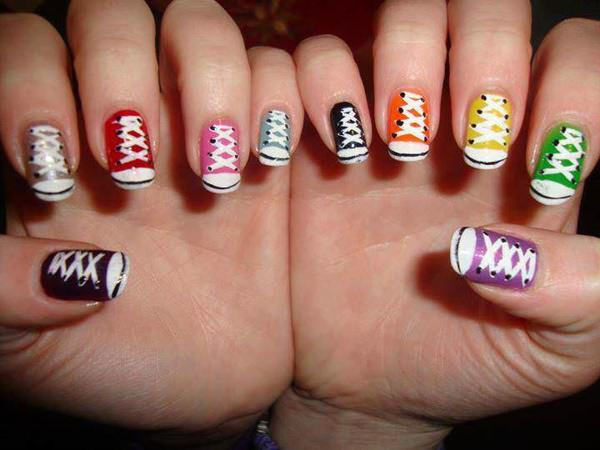 66 Amazing Acrylic Nail Designs That Are Totally in Season Right Now