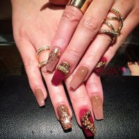 66 Amazing Acrylic Nail Designs That Are Totally in Season