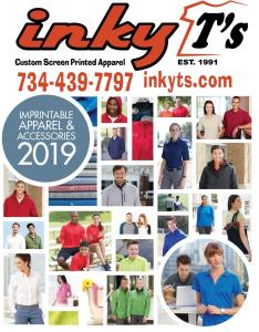 Inky T's Apparel Catalog 2019