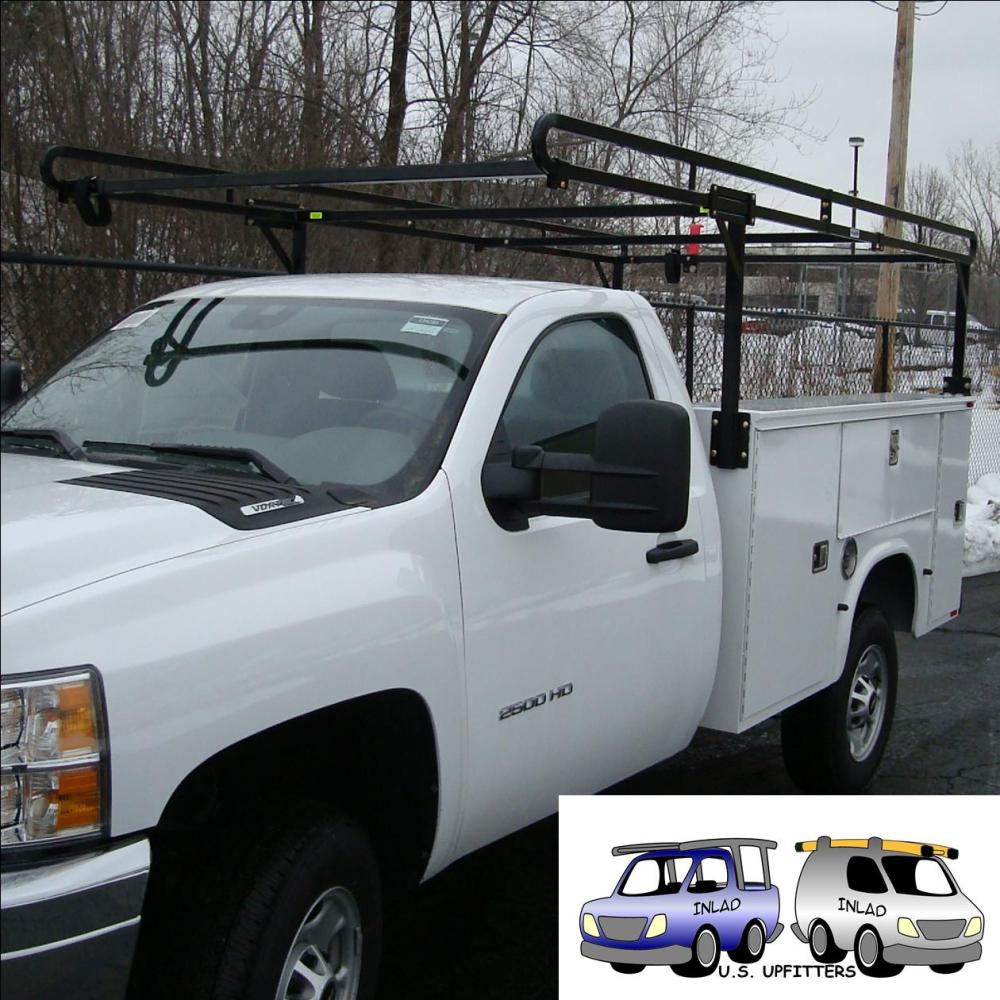 medium resolution of weather guard truck equipment steel service body rack model 1225