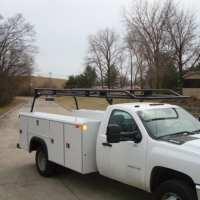 Utility Body Ladder Racks - Utility Ladder Rack - Bed ...