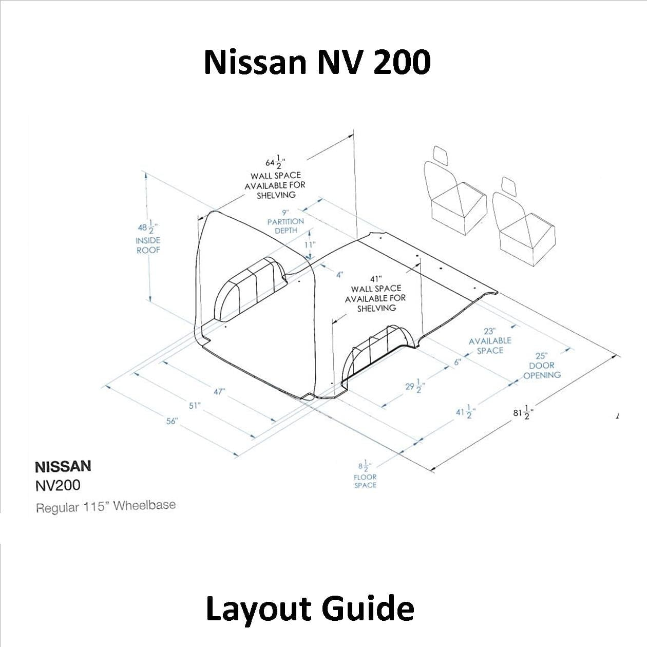 hight resolution of nissan layout guide nissan nv200 u s upfittersinlad truck u0026 van equipment company nissan layout guide