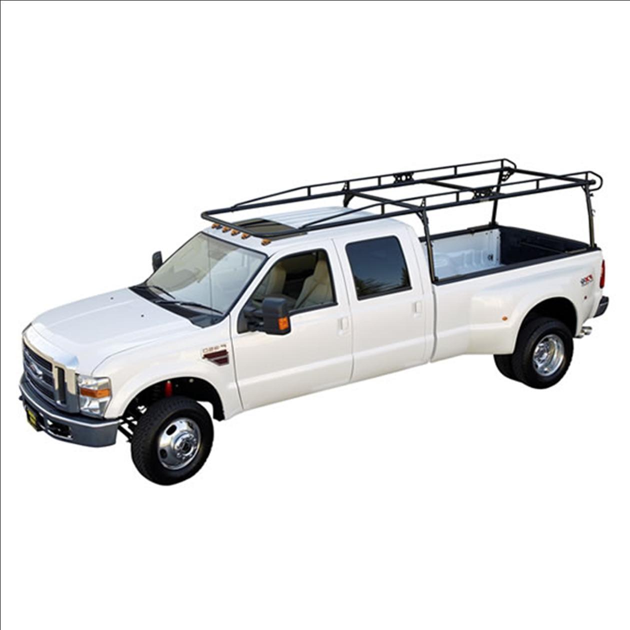 heavy duty pro ii ladder rack for full size open bed pickup trucks