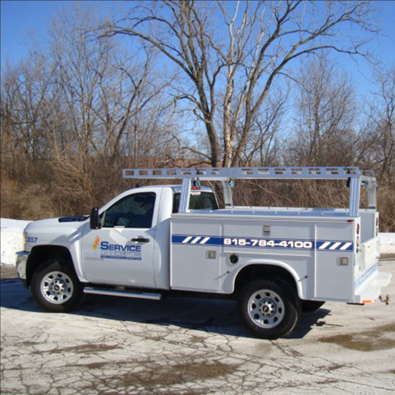 heavy duty contractor rig for utility