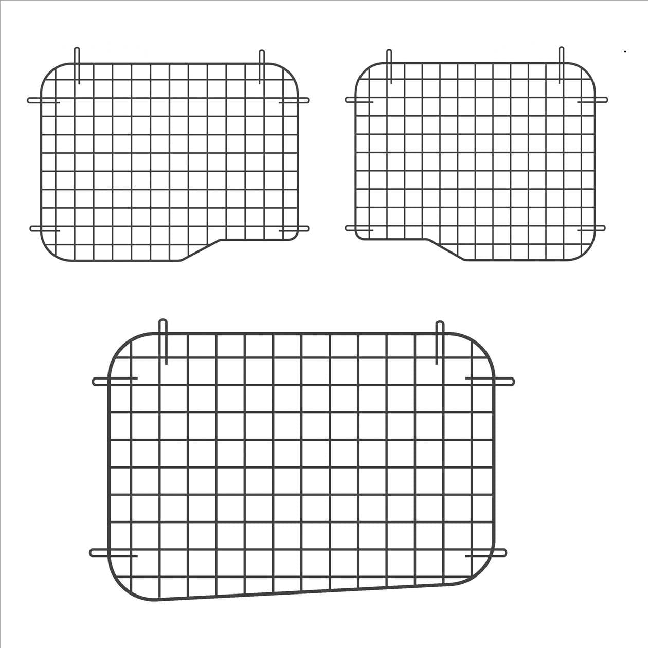 Adrian Steel Complete Wire Window Screen Kit for RAM