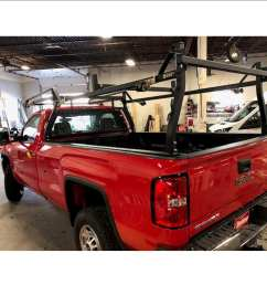 rack it inc rack it inc hd forklift loadable rack for gm silverado sierra long bed extended cab [ 1260 x 1260 Pixel ]