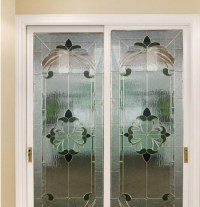decorative glass usded in French door